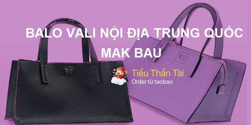 Đánh giá thương hiệu balo vali nội địa Trung Quốc Mak Bau có tốt không?