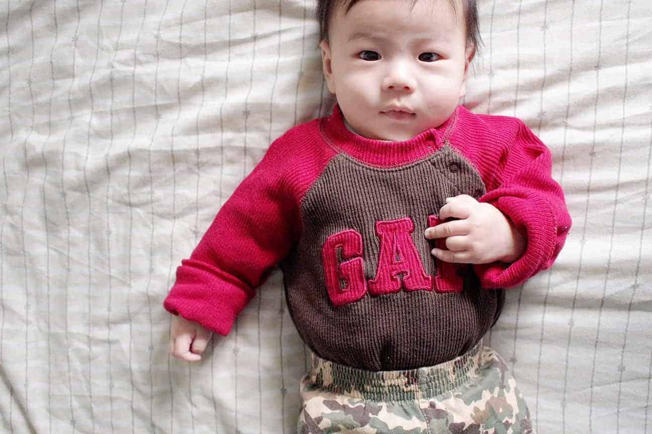 Thời trang trẻ em của thương hiệu GAP rất được ưa chuộng