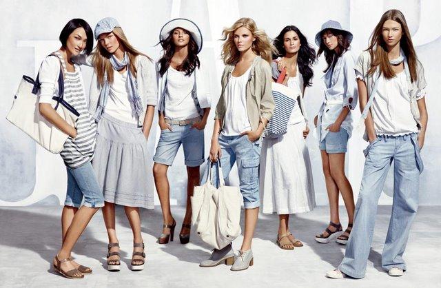 Quần áo thường trang GAP thường mang phong cách khác lạ, mới mẻ